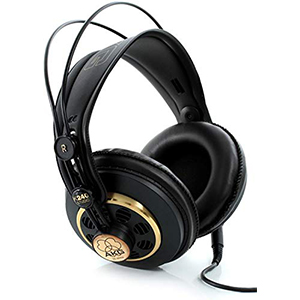AKG K240 Studio Semi-Open Over-Ear Studio amp headphones
