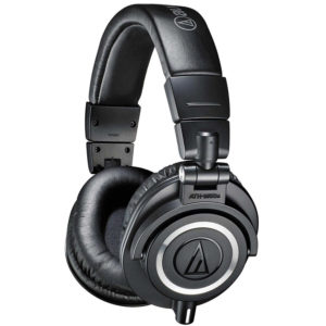 Audio-Technica ATH-M50x Professional Studio guitar headphones