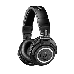 Audio-Technica ATH-M50xBT Wireless Bluetooth Over-Ear aptX Headphones