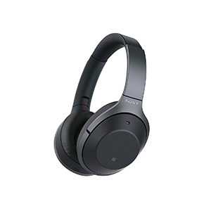 Sony Over Ear Wireless Bluetooth Noise Cancelling Headphones WH1000XM2 with Hi Res Audio