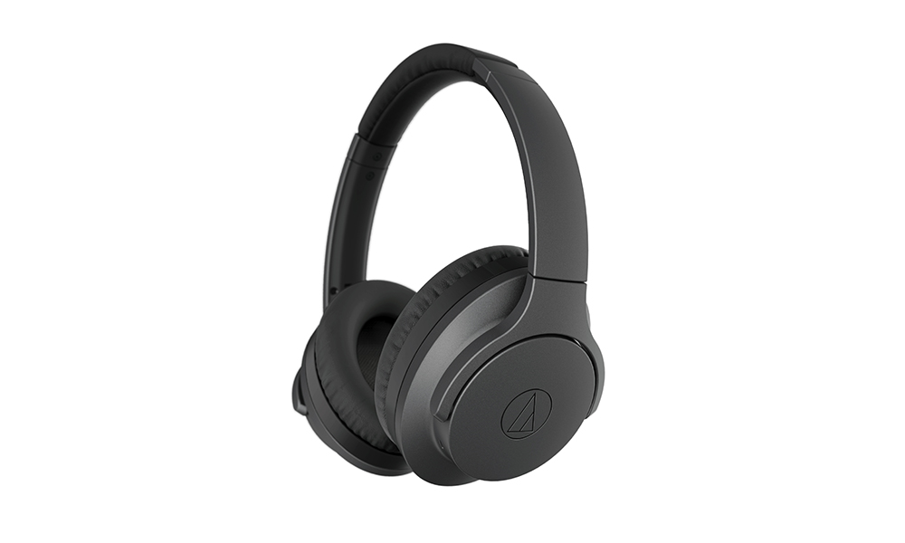 Audio Technica ATH-ANC700BT QuietPoint Wireless Active Noise-Cancelling Headphones