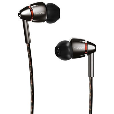 1MORE Hi-Res High Fidelity in-Ear Headphones with Quad Driver