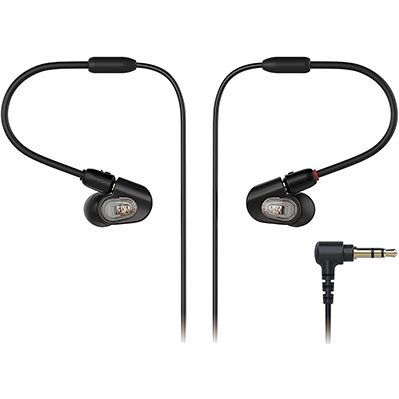 Audio-Technica ATH-E50 Professional In-Ear Studio Monitor Headphones