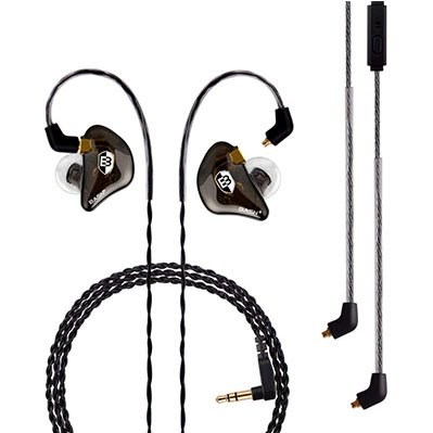 BASN Professional in-Ear Monitor Headphones for Singers Drummers Musicians