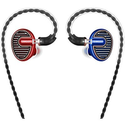 Hi-Res Audio IEM Earphones with Dynamic Balanced Driver